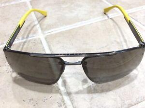 307778aa4d HUGO BOSS Sunglasses 0773 S HXRW 63-14 Yellow   Carbon Fiber w ...