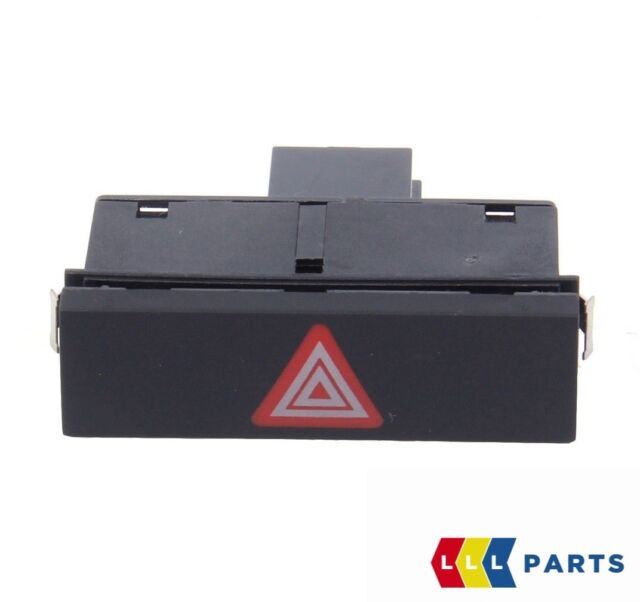 NEW GENUINE AUDI A6 S6 RS6 ALLROAD 2005-2011 HAZARD WARNING LIGHT SWITCH BUTTON