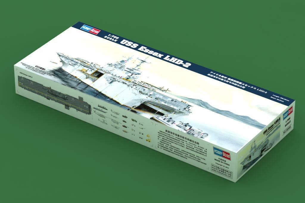 Hobby Boss 83403 Boat USS LHD-2 Essex Amphibious Assault Warship Model Kit 1 700