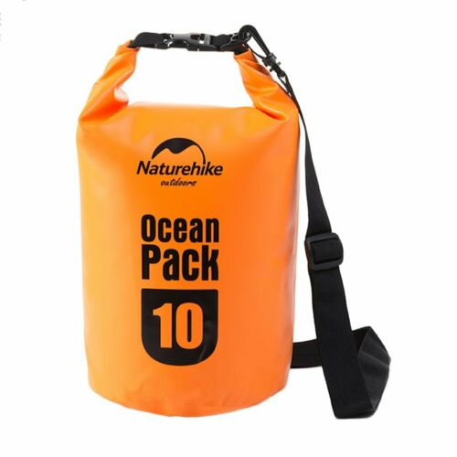 Outdoor Backpack Kayak Ocean Pack Waterproof Dry Bag Sack Orange Color 5r