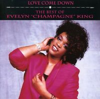 King,Evelyn Champagne - Love Come Down-Best Of (1993, CD NEUF)