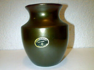 Vase-PRINKNASH-POTTERY-Abbey-Made-In-England-H-11-cm-Studio-Pottery-LOOK