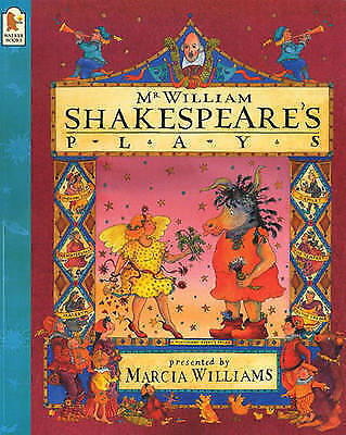 """""""AS NEW"""" Williams, Marcia, Mr William Shakespeare's Plays Book"""