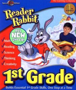 Reader-Rabbit-1st-Grade-Special-2-CD-Edition-Math-Language-Arts-Thinking-NEW