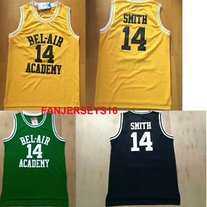 The Fresh Prince of Bel air Jersey  14 will smith Basketball Jersey ... 2372ceb5a