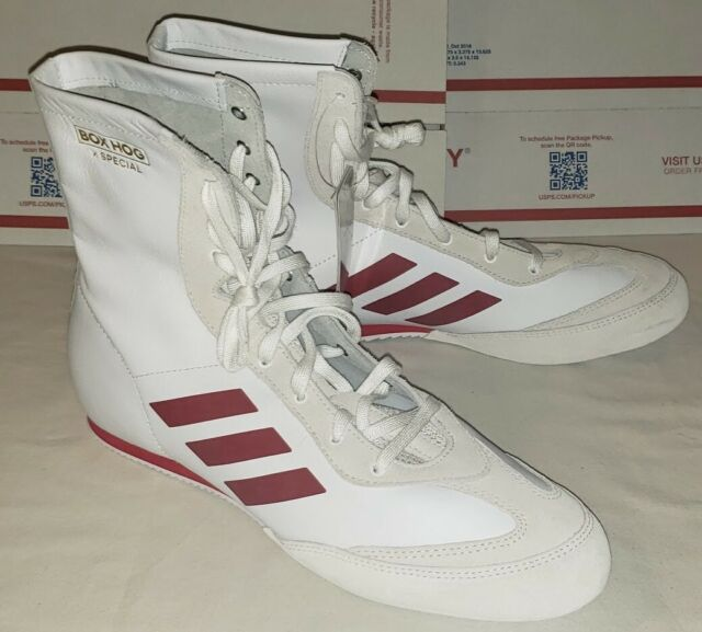 Men's Leather Adidas X Box Hog Special Boxing Shoes 11 ac7148