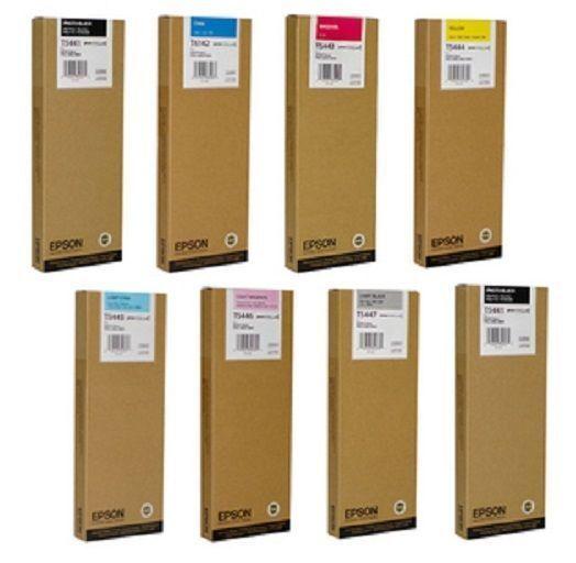 Original EPSON Patrone Stylus Pro 9600 7600 4000 / T5441 T5442 T5443 T5444 T5445
