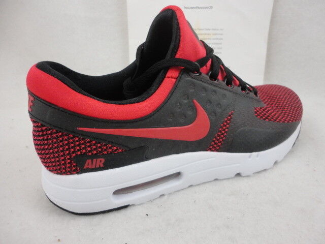 b1cf24030dff Nike Air Max Zero 0 Essential 876070-600 Bred University Red Black DS Size  10 for sale online
