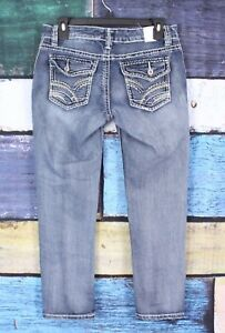 Maurices-3-4-Stretch-Distressed-Thick-Stitch-Slim-Skinny-Crop-Capri-Denim-Jeans
