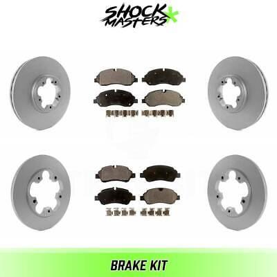 Front G-Coated Rotor /& Ceramic Brake Pads for 2002-2005 Ford Explorer