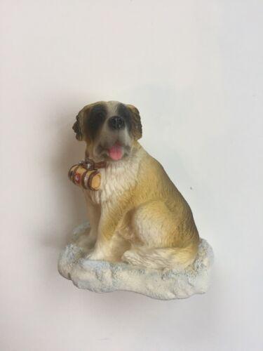 3D Saint Bernard Dog Magnet