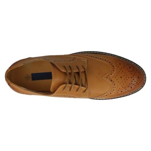 À Hommes A2r143 Par Brogue Style Chaussures Lacets Malvern OOwRPEq