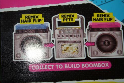 LOL Surprise Hair Flip Remix BLUEGRASS QUEEN BRAND NEW* BUILD A BOOMBOX WITH PET