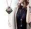 Damen-Halskette-Mode-Schmuck-Geschenk-Tochter-Mutter-Anhaenger-Gold-lange-Kette Indexbild 3