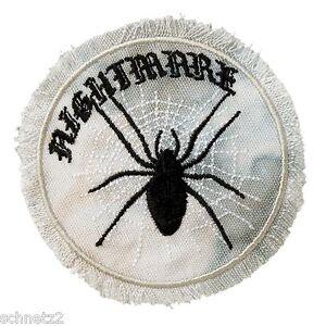 1 Aufbügler Aufbügelmotiv Patch BIKER Patch Spinne Batic rund Aufnäher NEU