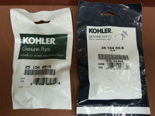 Genuine OEM Kohler CLIP BAFFLE MOUNTING part# 25 154 37-S