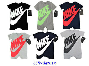 870a8f60f5df Image is loading Nike-Futura-Infant-Coverall-Outfit-Size-0-3M-