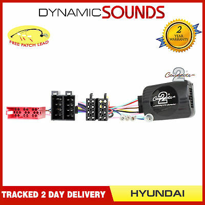 CTSHY007 Steering Wheel Stalk Control Adaptor Lead For HYUNDAI Santa Fe 2007/>