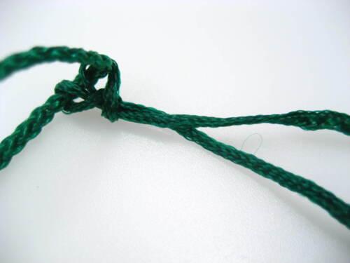 Verde Collar Colgar Cordones Para Jade Piedra acabado Ajustable Collar Cadena
