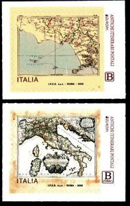2020-ITALIA-SERIE-EUROPA-ANTICHI-ITINERARI-POSTALI-2-VALORI