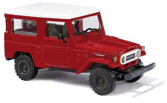 BACK! Red 1011 HO 1//87th Busch 1960-84 Toyota J40 Land Cruiser