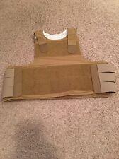 PACA Vest Soft Armor Carrier Coyote Small FSBE DEVGRU SEALs Eagle Allied