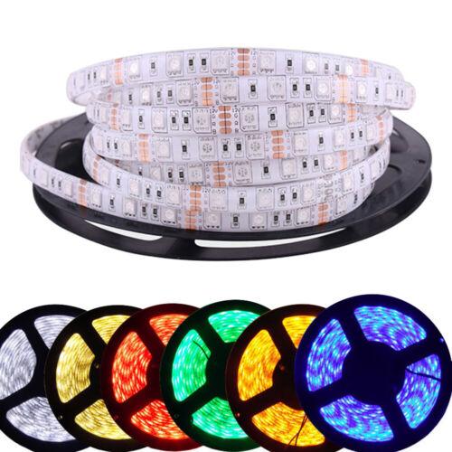 LED Stripe 5050 RGB Wasserdicht Leiste Streifen Band Leuchte Musik Kontrolleur