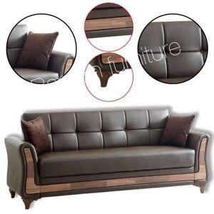 Luxury Air Leather Turkish Sofa Bed Set