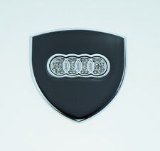 New 1pcs Car Side Window Emblem Badge Decal Sticker for Audi A4 A6 A8 Q3 Q5 Q7