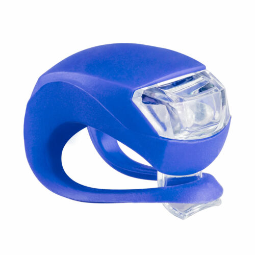 Rear LED Warning Lamp Blue Waterproof Frog Light Bicycle Silicone Bike Front