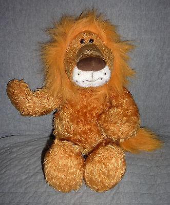 Gund   plush Lion  Gabbi      Gund Item 2741    15 inch  brown   smoke free home