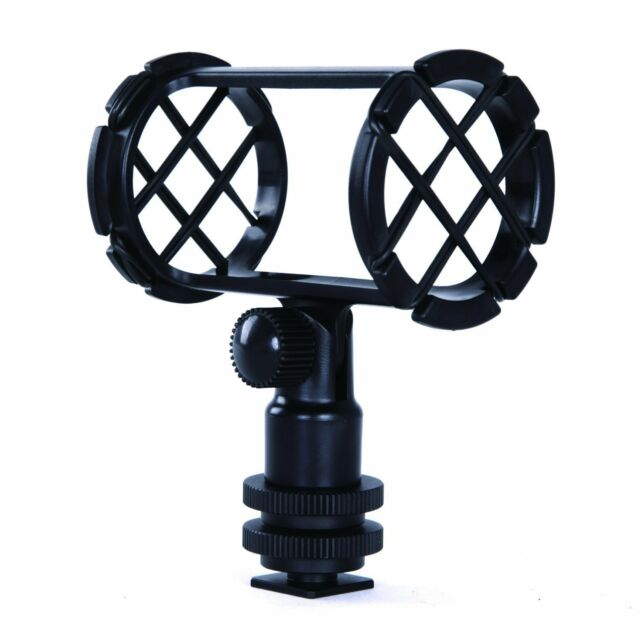 Movo SMM1 Camera Video Shock Mount for Shotgun Microphones 19-25mm in Diameter