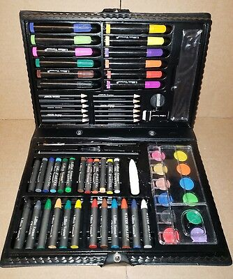 Paint Nice Set In Case Distinctive For Its Traditional Properties Generous Lillian Vernon Art Set Water Color Markers Pencils