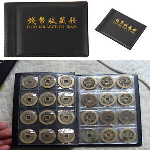 60-Pockets-Collecting-World-Coin-Collection-Storage-Holder-Money-Album-Book-New