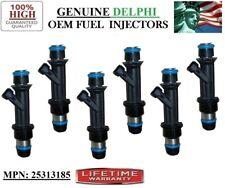 YRS 02-04 GMC Envoy 4.2L I6 MP#25313185 OEM Delphi Set//6 Rebuilt Fuel Injectors