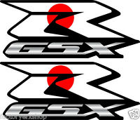 2 Custom Japan Flag Gsxr Decals Stickers 600 750 1000 Hayabusa 1300 Japanese
