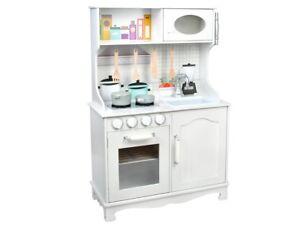 Dettagli su Legno Cucina per Bambini in Giocattolo Gioco 4581