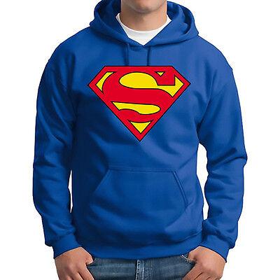 Men Supermen Batman Hero Hooded Warm Hoodie Sweatshirt Coat Outwear Sweater Tops