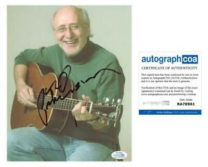 Peter-Yarrow-034-Peter-Paul-amp-Mary-034-AUTOGRAPH-Signed-8x10-Photo-ACOA