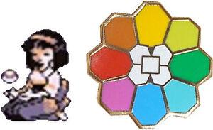 Erika-Rainbow-Badge-Gold-Kanto-Gym-Leader-Lapel-Pin-Pokemon-Series1-RAINBOW