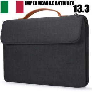 bassifondi concorrenza montacarichi  Custodia Laptop PC Portatile 13.3 Impermeabile Antiurto Borsa Macbook  Air/Pro 13   eBay