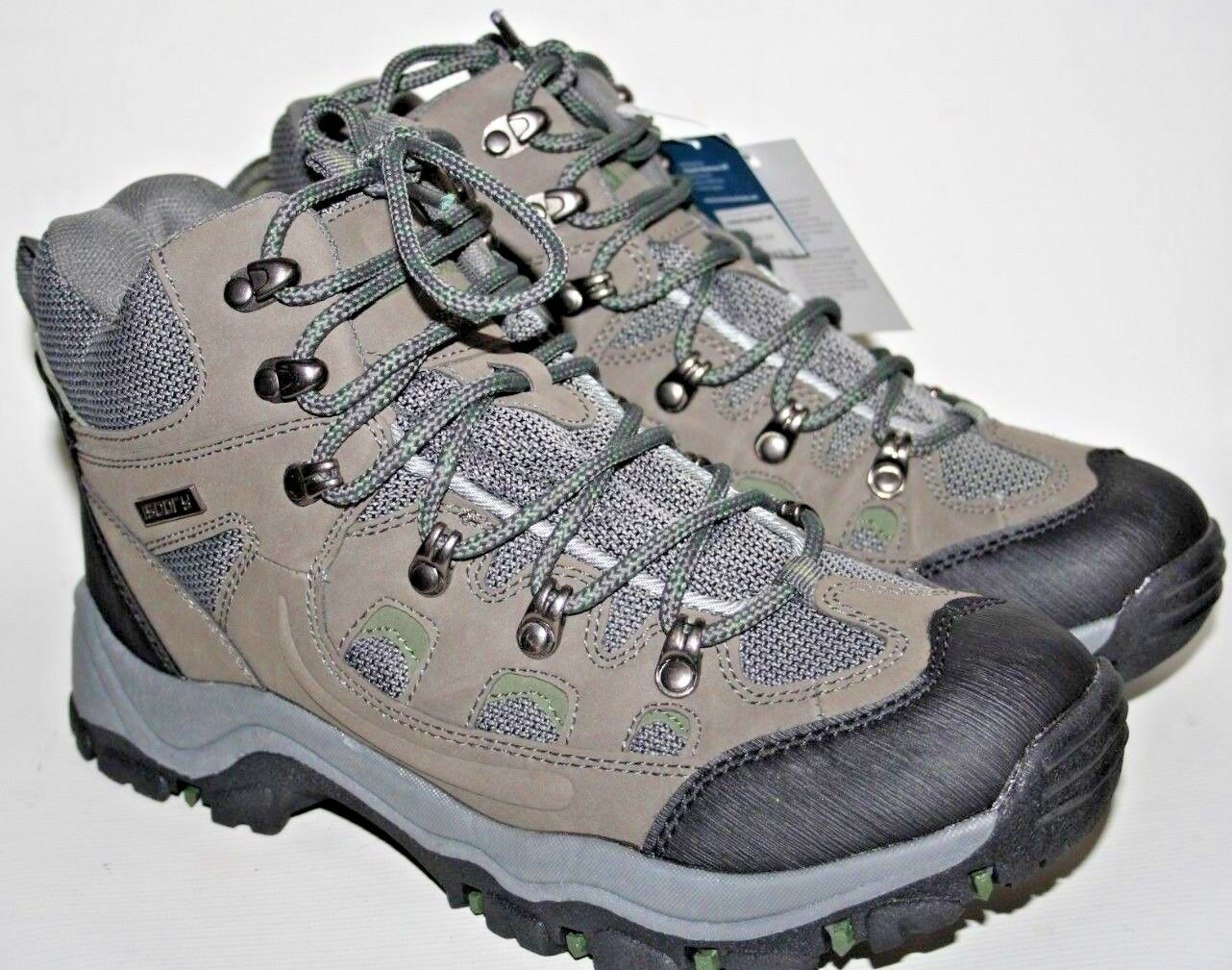 NEW Mountain Warehouse Isodry Waterproof Trekking Boots size UK 7 EU 41 Grey