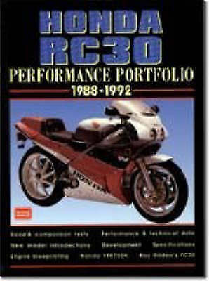 1 of 1 - Honda RC30 1988-1992 Performance Portfolio-ExLibrary