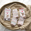Cute Women/'s//Girl/'s Wild Fox Animal Pattern Cotton Socks 2 Pairs