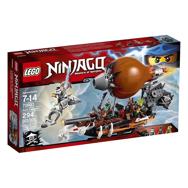 Lego Ninjago 70603 RAID ZEPPELIN Zana Ninja Airship Doubloon NISB Xmas Gift