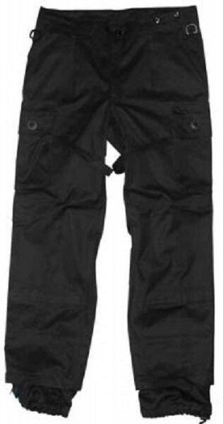 LEO Köhler KSK pantaloni da combattimento delle Forze Speciali Nero Medio