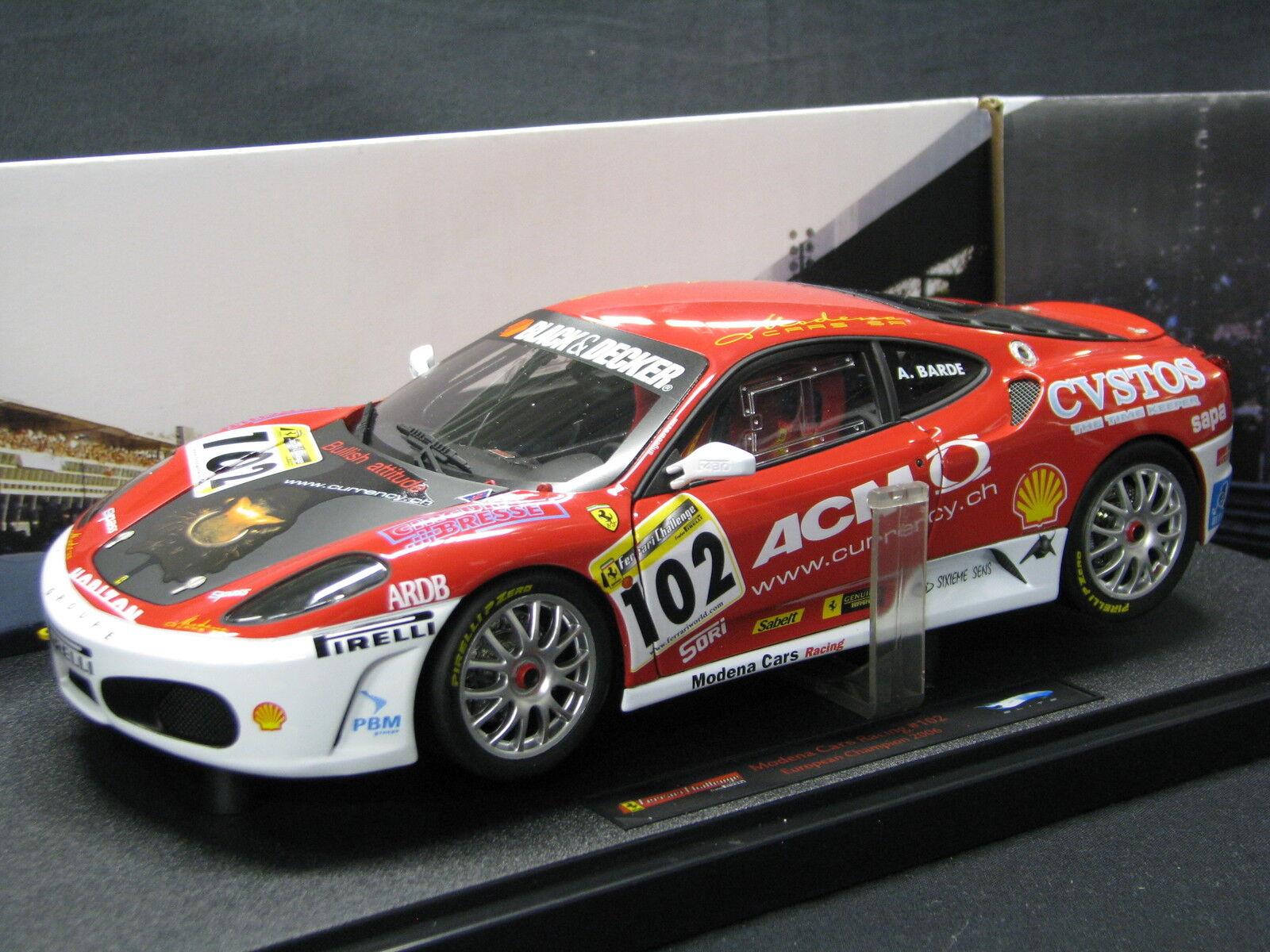 heta hjul Elite Ferrari F430 Challenge 2006 1 18 Ange Barde (SUI)