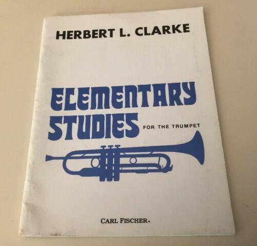 Clark Beginner Etude Trumpet Instruction Book Karl Fischer Japan for sale  online | eBay