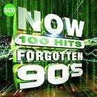 Now 100 Hits Forgotten 90s (CD, Nov-2019, 5 Discs, Box Set)