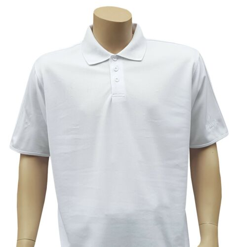 CATHEDRAL Premier Mens Rome Breathable White Bowls Classic 3 Button Polo 2019